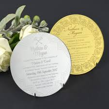 list manufacturers of gold mirror invitations buy gold mirror