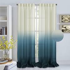 Sheer Curtains Tab Top