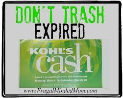 Kohls Floor Ls Money Saving Tip Don T Trash Expired Kohl S Frugal Minded