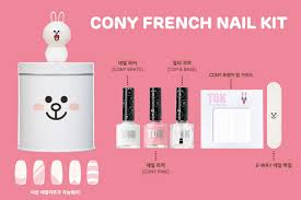 tok x line friends nail collection lets you diy the perfect
