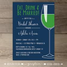 Eat Drink And Be Married Invitations Preppy Bachelorette Party Invitations U2022 Eat Drink And Be Married