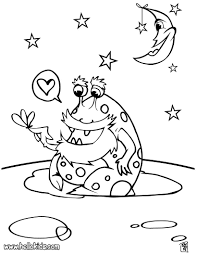 alien coloring pages hellokids com