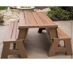 lifetime convertible patio bench the home depot pictures with