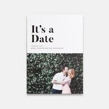 save the date designs it s a date photo card artifact uprising