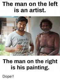 Dope Memes - the man on the left is an artist btarek white the man on the right