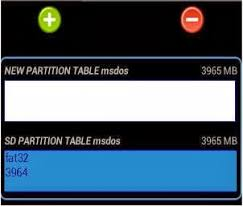 Unsupported Partition Table Tips To Partition Your Sd Card For Android Without Pc Timecube
