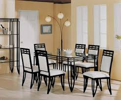 Wrought Iron Dining Table And Chairs Iron Dining Table Freedom To Aspiration Intended For 7