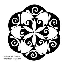 maori flower tattoo stencil photos pictures and sketches