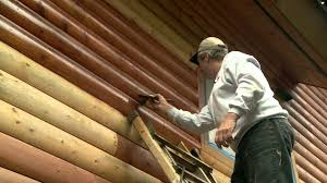 Interior Log Home Pictures How To Apply Log Home Stain Youtube