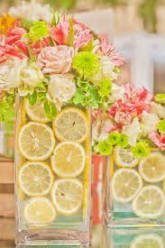 Handmade Centerpieces For Weddings by Diy These Pretty Outdoor Centerpieces Centerpieces Lemonade And