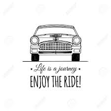 land rover logo vector life is a journey enjoy the ride motivational quote vintage