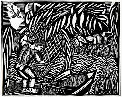 art deco fishing by raoul dufy 1910