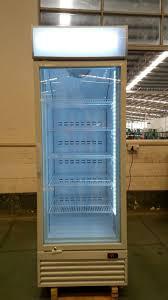 china vertical freezer upright glass door freezer glass door