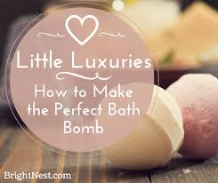 brightnest luxuries how to make the bath bomb