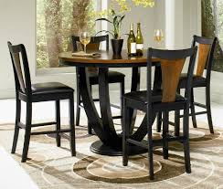 Black Oval Dining Room Table - dining room table exciting high top dining table set design ideas