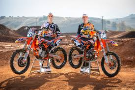 red bull motocross race marvin musquin and ken roczen 2013 red bull ktm team shoot
