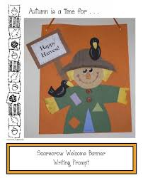 themed writing paper classroom freebies scarecrow themed writing prompt craftivity scarecrow themed writing prompt craftivity