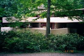 fallingwater pictures southeast elevation frank lloyd wright