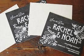 Paper For Invitations Eco Industrial Chalkboard Linen Wedding Invitations