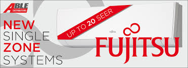 fujitsu logo more new mini split systems from fujitsu u2013 able distributors