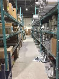 amagine lighting new install at plumbing and hvac warehouse
