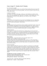 Resume Layout Example Resume Number Of Pages Resume For Your Job Application
