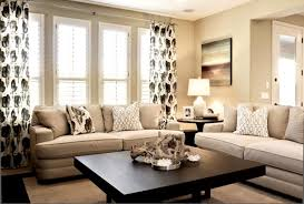 Popular Rustic  Adding Color To A Neutral Living Room Helkkcom - Adding color to neutral living room