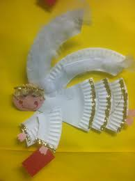 paper plate angel craft easy kids crafts pinterest angel