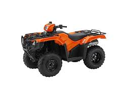 2016 honda fourtrax foreman 4x4 es orange trx500fe1 greeneville