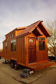 Craftsman Cabin Man Builds Craftsman Style Tiny House