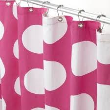Grey And White Polka Dot Curtains Polka Dot Shower Curtains Foter