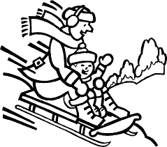 winter coloring pages free coloring home