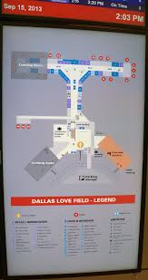 Dallas Terminal Map by Loe Airport Map Loe Terminal Map