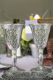 wedding goblets wedding traditions the pattern on the goblets i