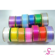 paper ribbon 38mm polypropylene gold line paper ribbon