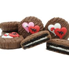 where to buy chocolate covered oreos milk chocolate dipped oreo cookies decorated with