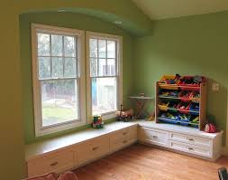 Bench Seating With Storage by Under Window Storage Bench Kids Comfort Under Window Storage
