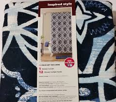 Better Homes Shower Curtains by Amazon Com Better Homes And Gardens Interlocking Circles 13 Piece