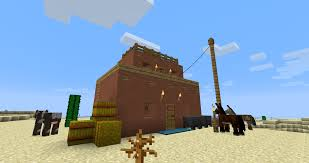adobe house with clothesline minecraft
