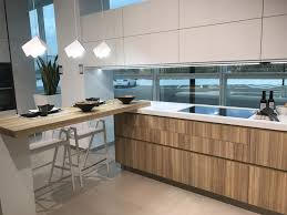 Kitchen Island With Table Extension by Porcelanosa