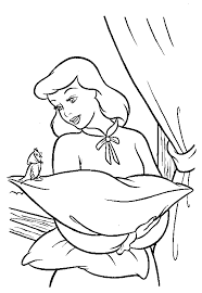 coloring pages cinderella animated images gifs pictures