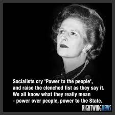 Meme Sentences - margaret thatcher destroys socialism in two sentences meme