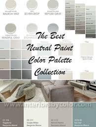 best neutral paint color palettes for your entire house paint