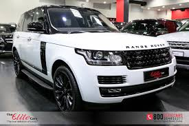 land rover supercharged white range rover vogue supercharged se black edition under warranty 22