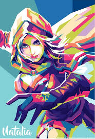wallpaper mobile legend for android alice mobile legends wpap by mahayhana on deviantart
