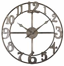 contemporary ideas clock wall art gorgeous design 17 best ideas