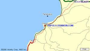 lebanon on the map tripoli lebanon maps page
