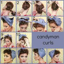 how to wear bandanas with bob hairstyles 1940s rosie the riveter hair google search 12th night