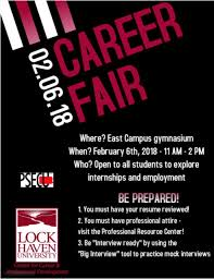 example of a flyer for an event center for career and professional development
