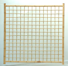 trellis full bamboo screen